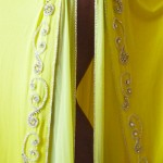 yellow bellydance costume