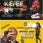 Kefee Live in Toronto