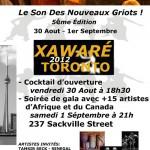 Xawaré Toronto 2012